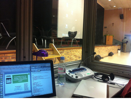 Simultaneous booth interpreting ~ English to French translation | Translators Make The World Go Round | Scoop.it