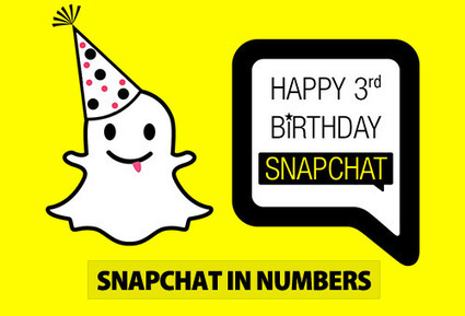 3 Years of Snapchat in Numbers [Infographic] | Social Media Marketing and other Digital News | Scoop.it