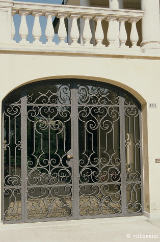Designing a wrought iron grill | I go out to write a post and go back | Villi Zanini Wrought Iron | Scoop.it