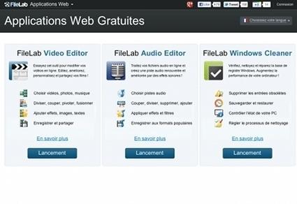 FileLab : éditeur audio et vidéo en ligne | TranCool | Time to Learn | Scoop.it