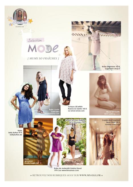 Style estival pour les femmes enceintes | Egg | Le magazine inspirant des femmes enceintes | %home_title% | Vêtements et lingerie pour femmes enceintes et mamans allaitantes | Scoop.it