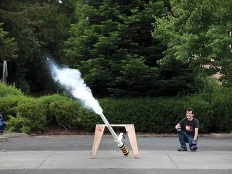 The Sublimator Dry Ice Cannon | Maker Stuff | Scoop.it