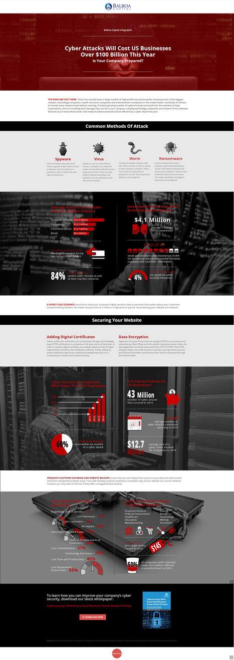 How to Save Your Company From a Cyberattack [Infographic] | Business Industry | Scoop.it