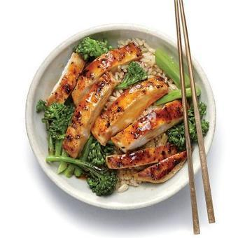 Asian: Lemon Chicken Teriyaki Rice Bowl - 50 Healthy Chicken Breast Recipes - Cooking Light | Chef's corner | Scoop.it