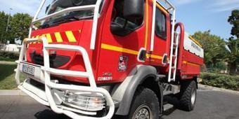 [13/07] Un véhicule militaire en feu après le défilé militaire à Fréjus | Puget sur Argens | Scoop.it