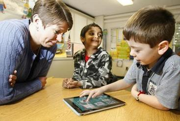 iPads help teach WA Wettel Elementary School students (video) - Oneida Dispatch | Education | Scoop.it