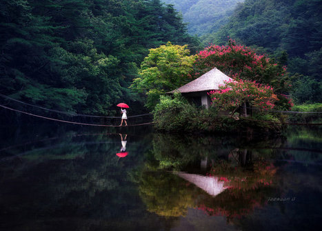 Photography Inspiration - Jaesoon U's Reflective Landscapes | Smartpress.com | Photography, Graphic Design & Artful Inspiration | Scoop.it
