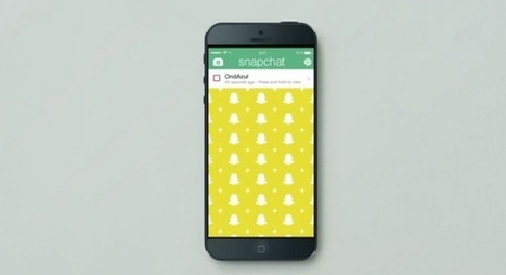 Une ONG passe son message sur Snapchat | digital | Scoop.it