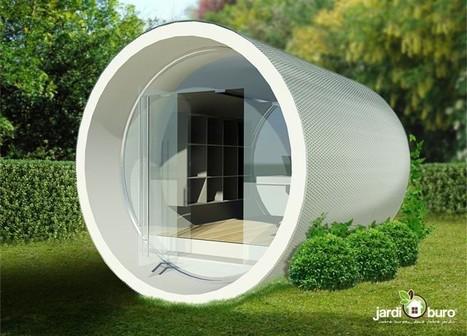 Installez un bureau dans votre jardin | Aménagement des espaces de vie | Scoop.it
