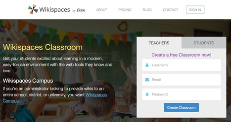 Wikispaces | Tools for Teachers & Learners | Scoop.it