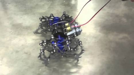 How To Make A Theo Jansen Inspired Walking Robot Insect | Heron | Scoop.it