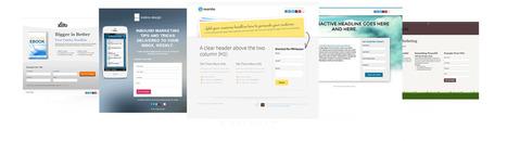 79 de Template-uri Gratuite pentru Landing Page-uri | Inbound Marketing Newsletter | Scoop.it