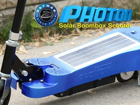 Daymak Photon Scooter | Indie Movies | Scoop.it