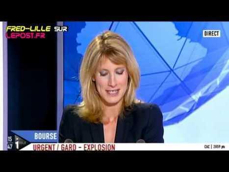 Les bourses s'effondrent, mais ça fait bien rire les journalistes d'I>Télé... | Le Journal de la Télé - Nostalgie | Scoop.it