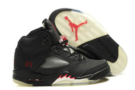 Nike Jordan 5 Sport Red and Black White - Kids Shoes | my style | Scoop.it