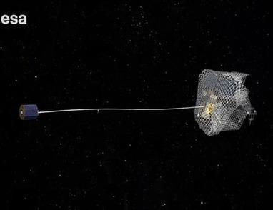 L'ESA veut attraper les débris spatiaux dans ses filets - nouvo.ch | Exploration spatiale | Scoop.it
