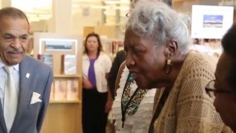 Black NC Woman Denied Library Card in 1942 Returns at Age 92 to Get One | innovative libraries | Scoop.it