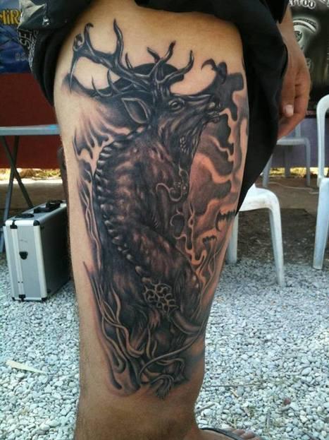 Deer | Tattoo | Scoop.it