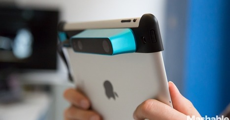 Structure Sensor Turns the iPad Into a Powerful 3D Scanner | TRIZ et Innovation | Scoop.it