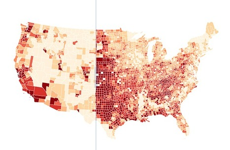 Per Square Mile: How population density affected the 2012 election | Digital Urbanism | Scoop.it