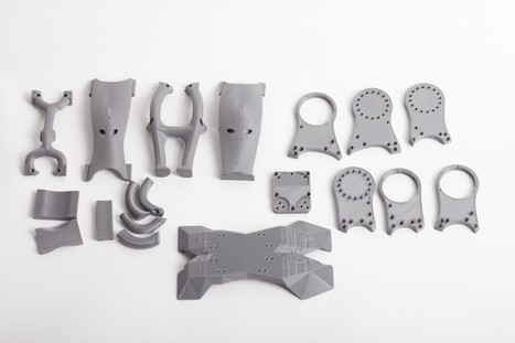 DyRoS, the 3D Printed Humanoid Robot, Presented at 'Humanoids 2014′ - 3DPrint.com | Heron | Scoop.it