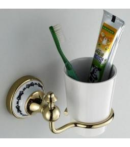 Vintage Polished Brass Wall Mounted Toothbrush Tumbler Holder G-213 | LED Bathroom Faucet | Scoop.it
