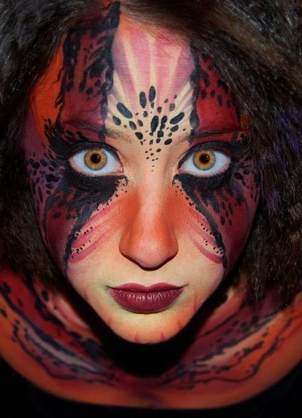 30 Creative Face Painting Art Collection | Top 10 Lists | Scoop.it
