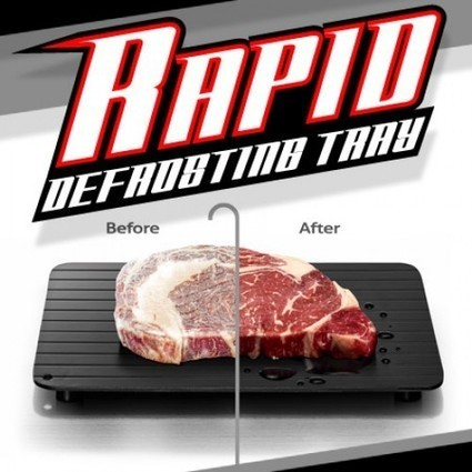EZ Rapid Defrosting Tray [REVIEWS] As Seen on TV | Revyolo - product reviews | Scoop.it