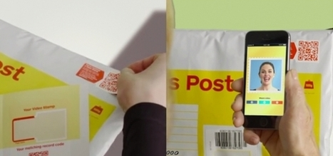 Le VideoStamp, la vidéo embarquée via QR Code sur le timbre d'une enveloppe | De la bonne utilisation des QR-Codes | Scoop.it