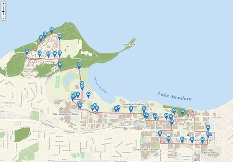 New campus map combines cartography know-how, best of web - University of Wisconsin-Madison | Cartography | Scoop.it