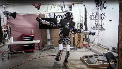 Atlas, le robot de Google, a un meilleur équilibre que vous | Une nouvelle civilisation de Robots | Scoop.it