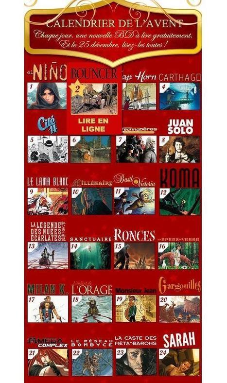 Une BD gratos par jour jusqu'à Noël   BRAIN SHOPPING • CULTURE, CINÉMA, PUB, WEB, ART, BUZZ, INSOLITE, GEEK •   Scoop.it