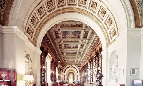 Franck Bohbot captures the world's grandest libraries - | Library world, new trends, technologies | Scoop.it