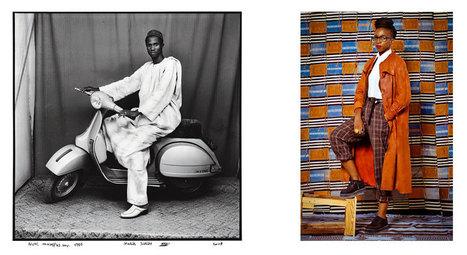 Studio portrait(s) de Malick Sidibé et Omar Victor Diop à la galerie du jour Agnès b.   L'actualité de l'argentique   Scoop.it