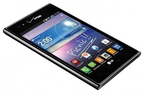 The Intuition by LG brings 4G phablet fun to Verizon | Mobile IT | Scoop.it