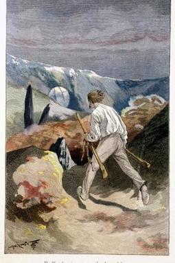 Schon vor 150 Jahren begann die Raumfahrt   Jules Verne Aktuelles   Scoop.it