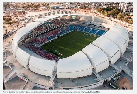 Brazil's $900 million World Cup stadium is now being used as a parking lot | The Architecture of the City | Scoop.it
