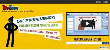 PowToon, útil herramienta para crear vídeos didácticos | elearningueando | Scoop.it