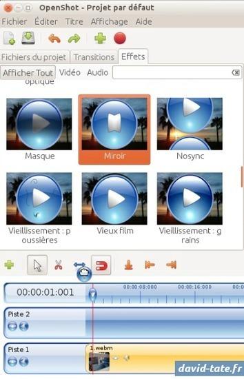 Comment changer le sens d'une vidéo avec Open Shot Video Editor | Freewares | Scoop.it