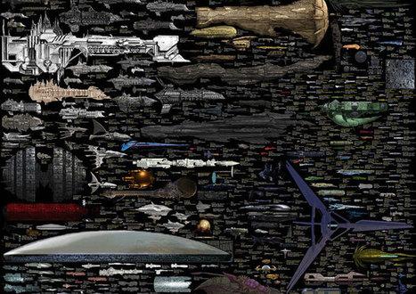 As maiores naves da ficção científica em escala | Ficção científica literária | Scoop.it