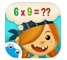 Appli iPad – Capitaine Maths, faire des maths en s'amusant de 6 à 11 ans | L'e-Space Multimédia | Scoop.it