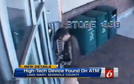 VIDEO: Crook install hi-tech 'skimmer' at Florida Publix ATM that sends debit card info instantly | The Billy Pulpit | Scoop.it
