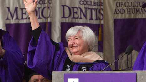 Yellen Tells NYU Graduates to Expect Failure and Learn From It - New York Times | Steiner on Failure | Scoop.it