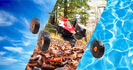 Ce drone est le premier capable de se déplacer à la fois dans les airs, sur la terre et sur l'eau | Culture Gen. | Scoop.it