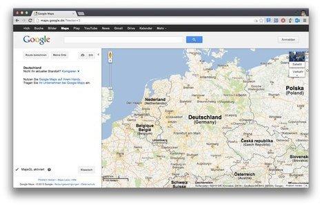 Microsoft tente de faire fermer Google Maps en Allemagne | Problématique 3 | Scoop.it