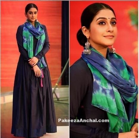 Regina Cassandra in Mint Blush Designs & Earrings by ZeroKaata | Indian Fashion Updates | Scoop.it