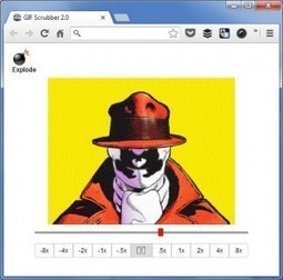 GIF Scrubber: Extrae las imágenes de un GIF animado | Aplicaciones y Herramientas . Software de Diseño | Scoop.it