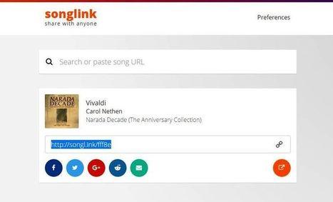 Songlink: comparte varios enlaces de una misma canción | ARTE, ARTISTAS E INNOVACIÓN TECNOLÓGICA | Scoop.it