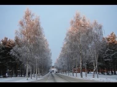 A Finnish Winter Lady in Red | Oulu | Scoop.it