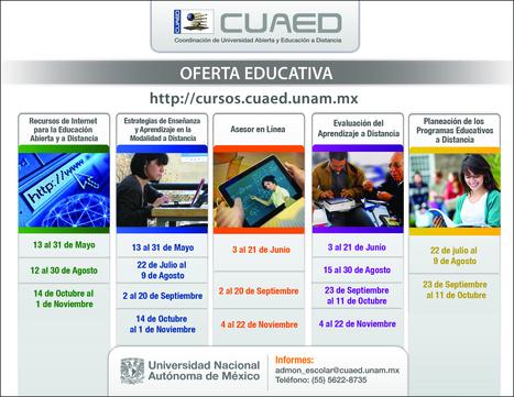 Oferta Básica de Cursos CUAED | Educación Abierta y a Distancia | Scoop.it